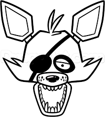 12 images of foxy the pirate coloring pages pirate easy how to