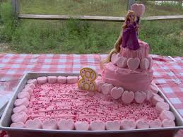 frugal for you rapunzel birthday cake
