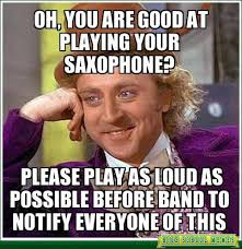 Drum Major Meme - 25 hilarious marching band memes smosh