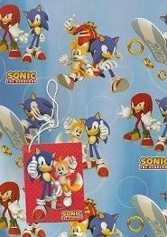 hedgehog wrapping paper sonic the hedgehog gift wrap tags health personal
