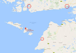 At T Service Map How To Get To Inis Meain Aran Islands Via Plane Or Ferry An Dun