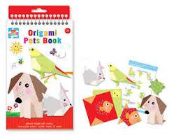 Origami Pets - origami pet book childrens filler arts crafts