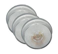 45821 3 2 twist in sealed license lights clear bulk pack