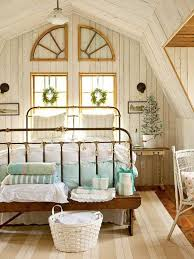 bedroom traditional bedroom with simple christmas decor idea