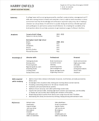 Physics Resume Librarian Resume Template 6 Free Word Pdf Documents Download