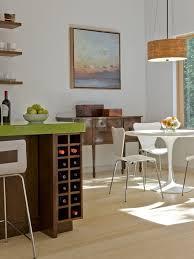 built in wine rack in kitchen island houzz