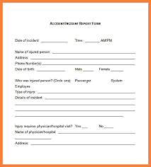 incident form template incident report template 33 free word pdf