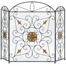 Country Fireplace Screens by Brass French Country Fireplace Screens U0026 Doors Ebay