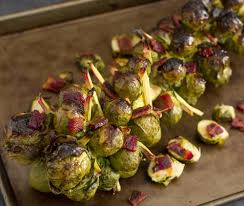 foodista roasted honey bacon sriracha brussel sprouts and other