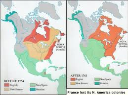 america map before and after and indian war indian war