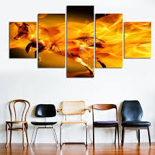 paintings for home decor compare prices on fox oil paintings online shopping buy low price