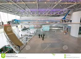 air force one interior inside the air force one pavilion editorial stock image image of