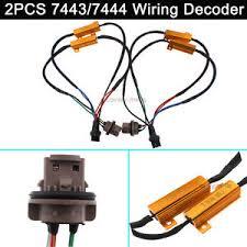 load resistors for led lights 2x t20 7443 load resistor hyper cenceler decoder adaptor for led