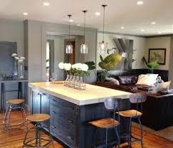 salon et cuisine moderne salon et cuisine moderne evtod intérieur table de cuisine sous de