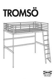 Stora Loft Bed Frame  Ikea Inspiration Pinterest Loft - Tromso bunk bed