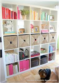 bookshelves as room dividers ideas ikea expedit bookcase room