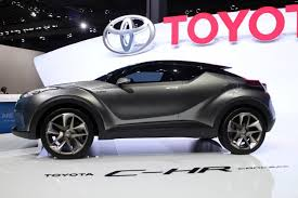 small toyota suv toyota c hr small suv to offer hybrid production debut at geneva