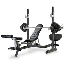 cheap olympic weight set and bench bench decoration