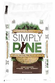 amazon com simply pine natural cat litter 20 lb pet supplies