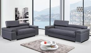 soho leather living room set in grey free shipping get furniture