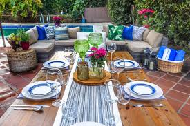 outdoor entertaining 15 almost free ways to create a chic outdoor entertaining space hgtv