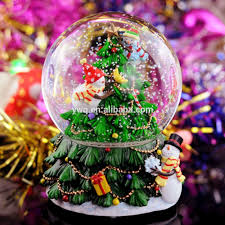 creative gifts christmas gifts snow colorful lights music box