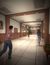 elevator hallway 3d models and 3d software by daz 3d