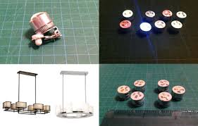 how i made a mini 1 12 scale pendant light for my dollhouse in