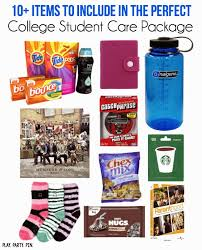 care package ideas for college students a college student use this list to put together the