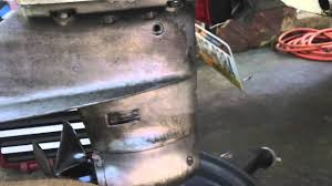 1986 force chrysler outboard 50hp lower unit gear oil change youtube