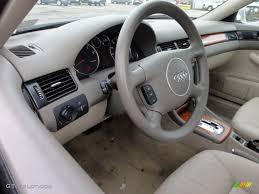 Audi A 6 2003 2003 Audi A6 3 0 Quattro Sedan Beige Steering Wheel Photo