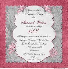 traditional memories birthday invitation woman u0027s 85th