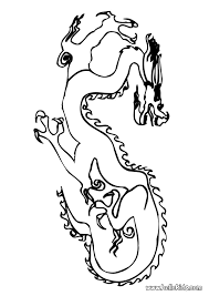chinese dragon decoration coloring pages hellokids com