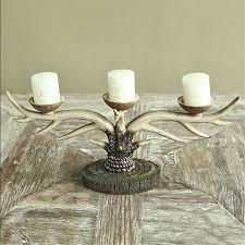 american country resin candlelight dinner candle table ornaments