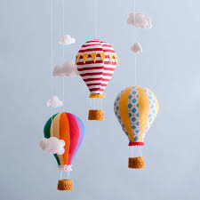 up up and away an adorable mobile for a child u0027s room from
