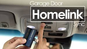 garage door opener homelink sync tutorial