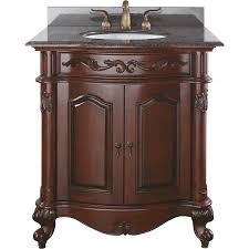 shop avanity provence antique cherry undermount single sink