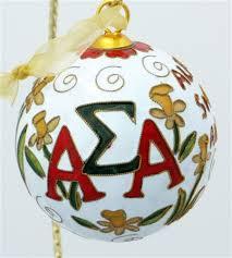 sigma alpha original cloisonne ornament