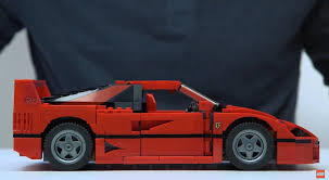 ferrari lego lego unveils new ferrari f40 comes with detachable engine