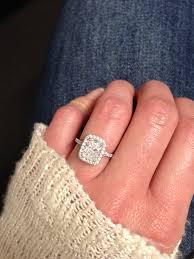 Diamond Cushion Cut Ring Engagement Rings Pave Diamond Engagement Ring Wonderful Cushion