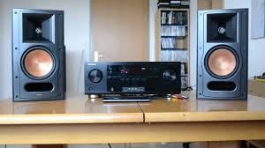 rf 42 ii home theater system demo klipsch reference rb 61 ii hd youtube