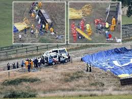 seven injured in australia air balloon crash the express tribune