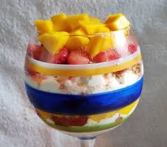Cottage Cheese Dessert by Cottage Cheese Mango Strawberry Salad With Flaxseed Tasty