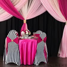 pink chair covers spandex banquet chair cover stripe at cv linens cv linens