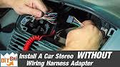 kenwood radio re wiring help youtube