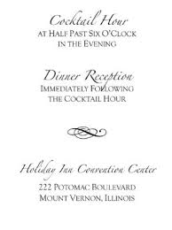 reception cards wording wedding invitation wording with cocktail hour and reception lovely