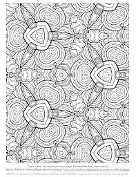 floral paisley patterns free printable coloring pages