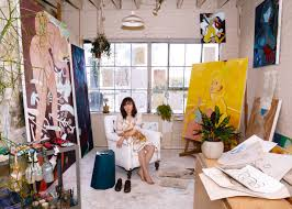 art world phenom koak speaks about her sexually charged paintings