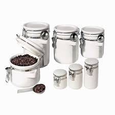 ceramic kitchen canister sets home decoration