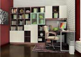 decoration ideas fabulous built in bookshelves study room